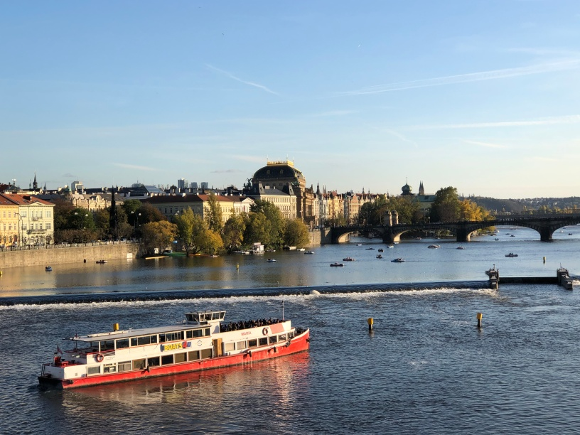 View from a bridge - Charles bridge of course!