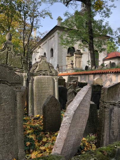 Jewish cemetery in Pinkas synagogue