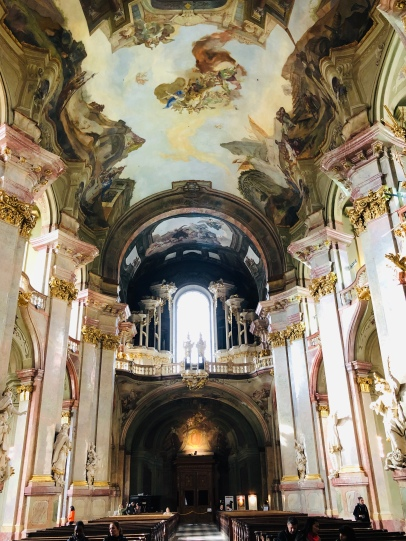 Hideous baroque cathedral of St Nicholas - but best of its kind in Europe!