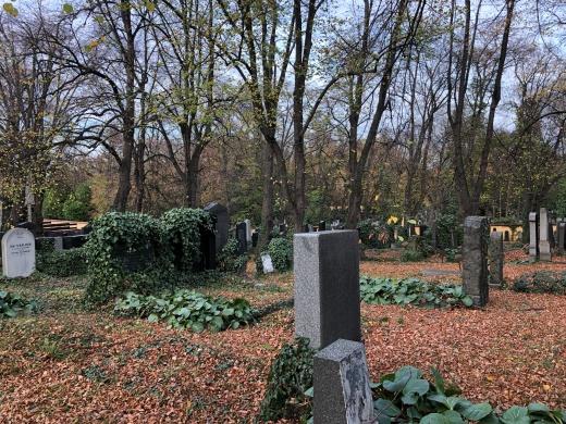 Smichov Malvazinky cemetery