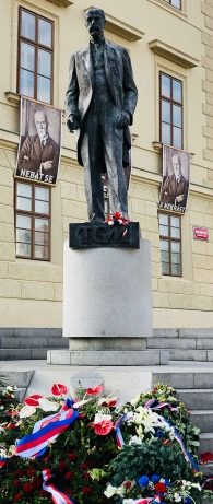 Tomas Masaryk, father of modern Czechia