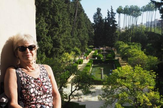 Alcazar gardens