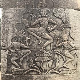 Apsara sculptures
