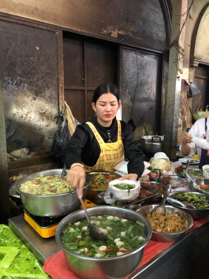 Cambodian soup kitchen