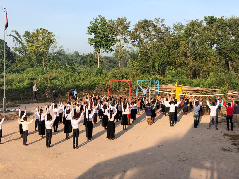 PE in the early morning!