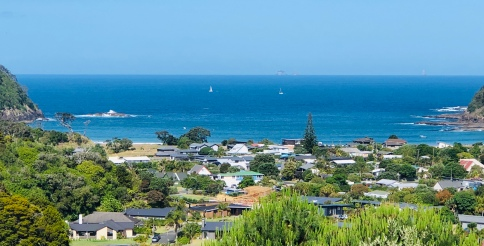 View from the house overlooking Matapouri