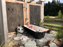 The bath!