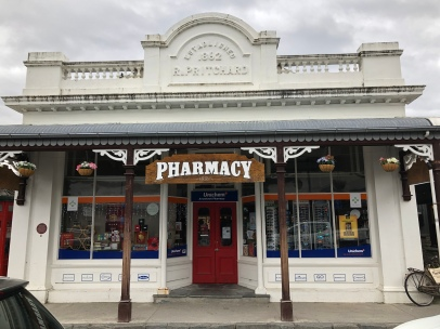 The old pharmacy in Arrowtown