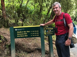 Kepler Track signs - efficiently NZ!