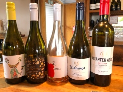 Te Awanga wines made by Ros McDOnald ex Villa Mria