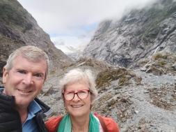 Selfie at the glacier