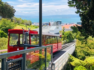 The funicular railway to the Botanical gardens