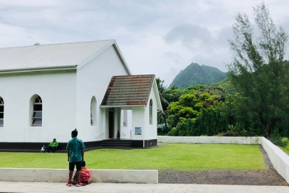 CICC church in Rarotonga on SUnday