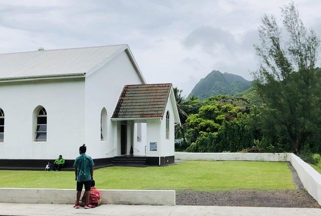 CICC church in Rarotonga on SUnday