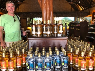 The local hooch factory (cane-sugar based)
