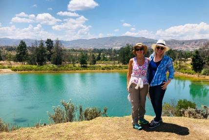 Teh azure lake again