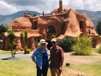The terracotta house with DAvid