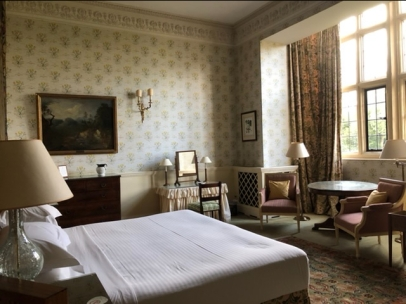 our sumptuous bedroom