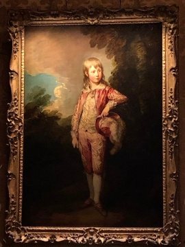 Famous Pink Boy by Gainsborough