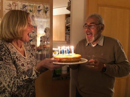 Diego's birthday/New Years Eve