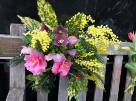 Flowers from the garden
