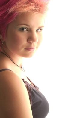 Freebie modelling session aged 13